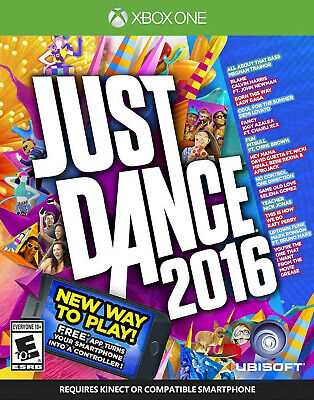 NEW Just Dance 2016 Microsoft Xbox One Video Game Music Dancing Pop Move XB1