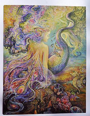 XL Josephine Wall 28x21cm Grußkarte Karte *Mer Fairy* mit Text