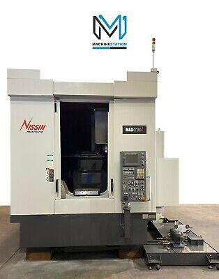 Snk Nissin Max-710i 5 Axis Cnc Mill Tsc 10000 Rpm Vertical Machine - Dmg Mori