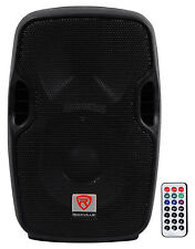 Rockville BPA8 8 Professional Powered Active 300w DJ PA Speaker w Bluetooth
