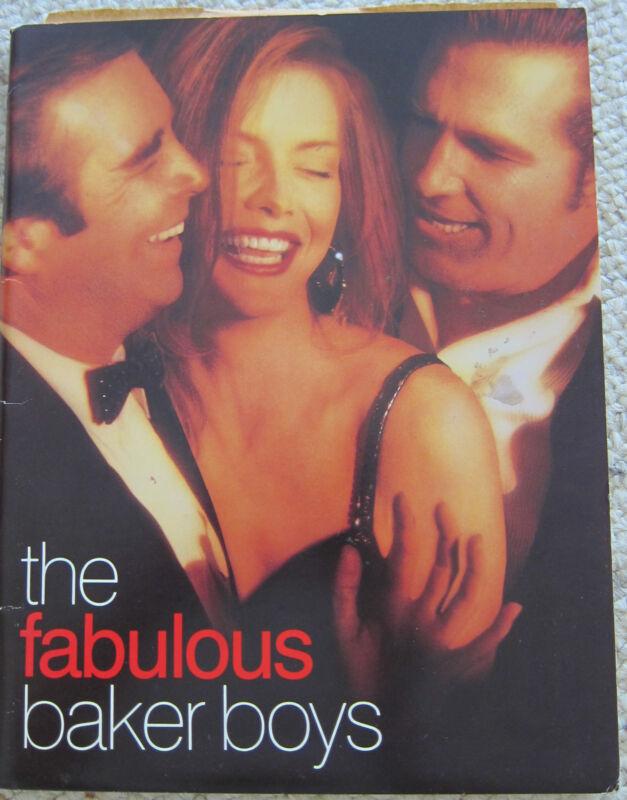 FABULOUS BAKER BOYS Press Kit - Michelle Pfeiffer, Jeff and Beau Bridges