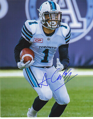 fa112d5ef55 ANTHONY COOMBS SIGNED TORONTO ARGONAUTS ARGOS 8X10 PHOTO EXACT PROOF  2