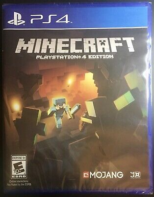Minecraft - PlayStation 4 Edition - (FACTORY SEALED)