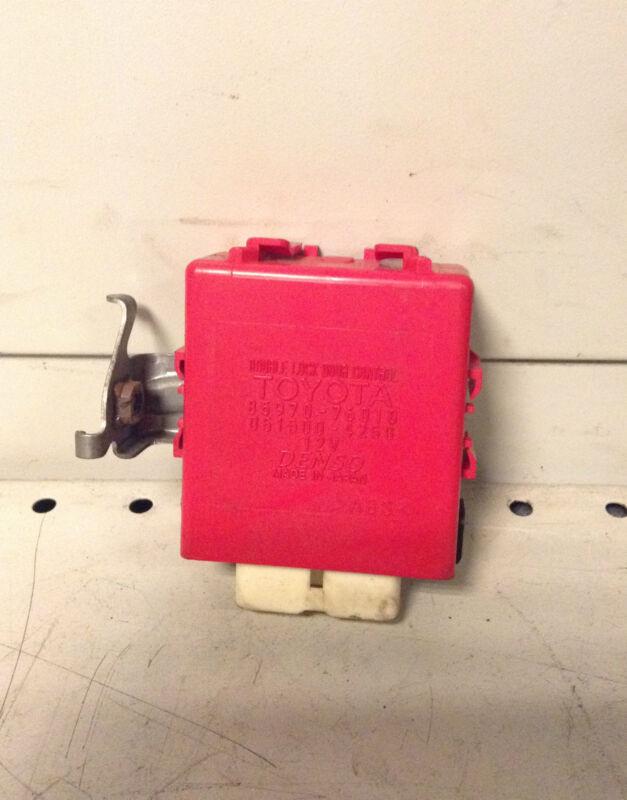 Lexus CT200h Double Door Lock Control module ECU 85970-76010