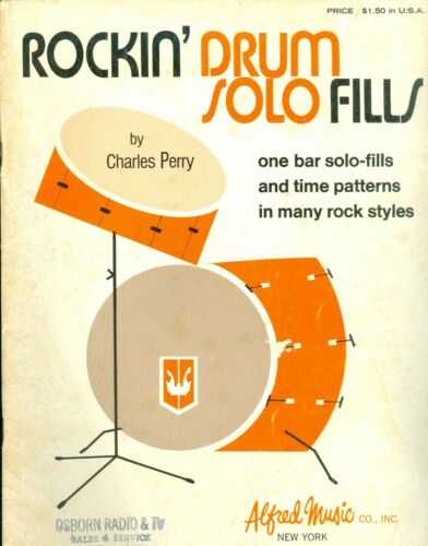 Rockin Drum Solo Fills One Bar Solo-Fills abd Time Patterns in many Rock Styles