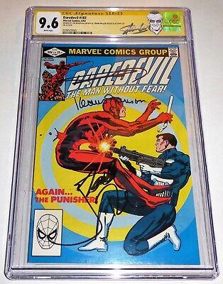 Daredevil #183 3x Signature CGC SS Autograph STAN LEE FRANK MILLER JON BERNTHAL