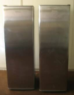 fisher paykel  stainless steel   fridge 250 l  and  freezer 210l