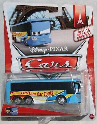 Disney Pixar Cars Deluxe Emmanuel Paris Tour Metall Mattel neu, verpackt Blister