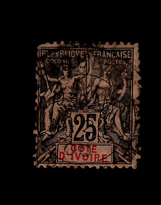 Ivory Coast - 1892 - SC 10 - Used - Navigation and Commerce