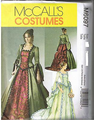 Renaissance Viktorianisch Kleid Brautkleid Kostüm Nähmuster Size 6 8 10 12