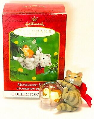 Hallmark Keepsake Mischievous Kittens 3rd In Series 2001 A