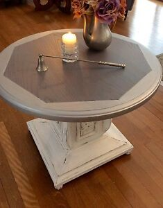 Beautiful oak accent table
