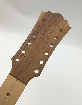 Acoustic guitar Unfinished neck 3 pieces of maple combination /12 string  wh12