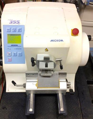 Microm HM 355s microtome.  Good condition, guaranteed.