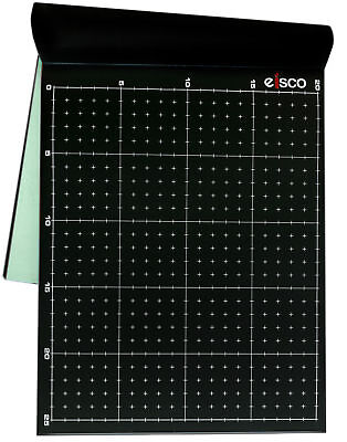 Black Conductive Paper Pack Of 25 Dry Field Mapping Paper - Eisco Labs