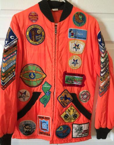 Masonic Families National Camping Travelers (NCT) Masons Patches Jacket