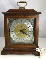 Howard Miller Mantel Clock 340-020, Westminster Chime West German Made 2 Jewels