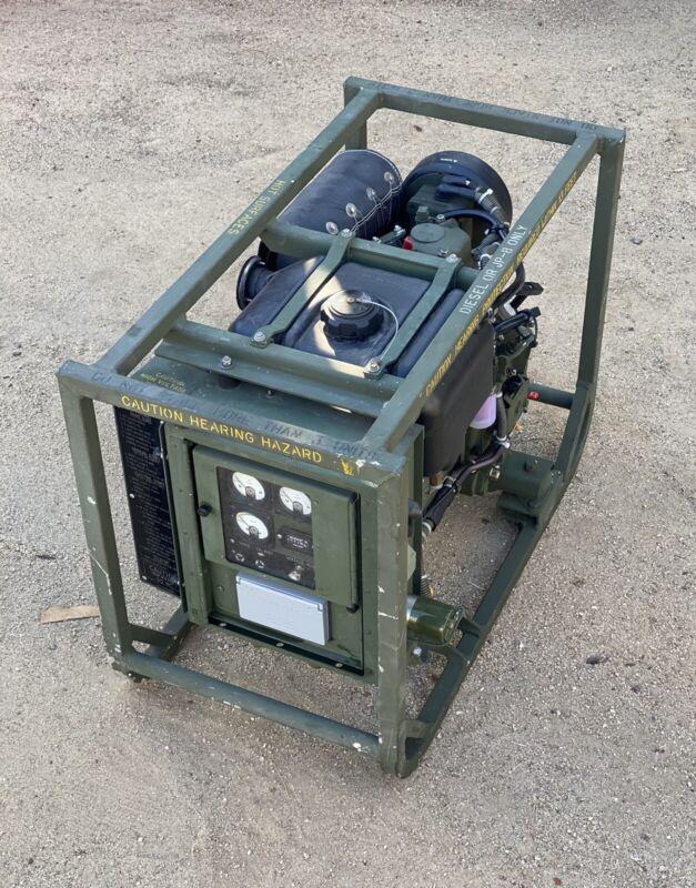 Diesel Generator Dewey Mep-531A Military Surplus