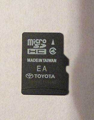 14 15 16 Toyota Camry Highlander Tundra Navigation Micro SD