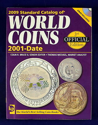 2009 Standard Catalog of World Coins 2001-Date by Colin R. Bruce (2008, Paperbac