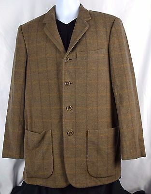 Unreal Texture Luciano Barbera Partial Lined Triple Patch Pocket Blazer Leather