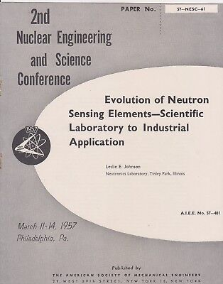Nuclear Engineering Philadelphia Leslie Johnson Atomic Manhattan Project 57-NESC