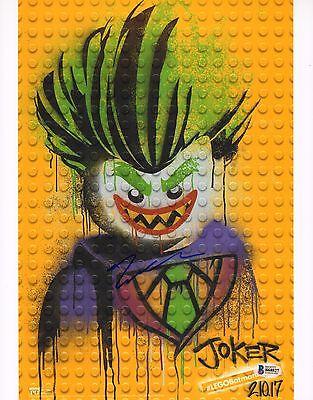 Zach Galifianakis Signed 11X14 Photo Bas Beckett Coa The Lego Batman Movie Joker