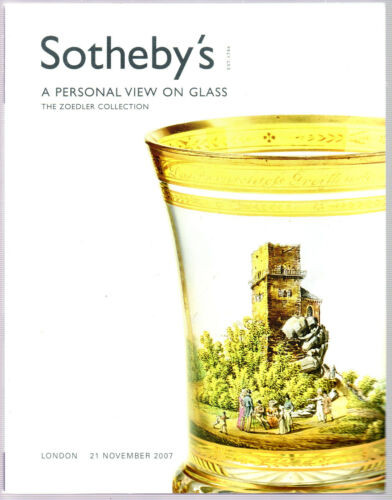 ZOEDLER GLass Collection SOTHEBY