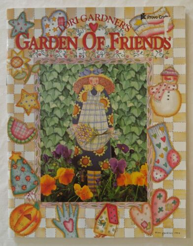 Provo Tole Decorative Painting Pattern Book GARDEN OF FRIENDS by Tori Gardner