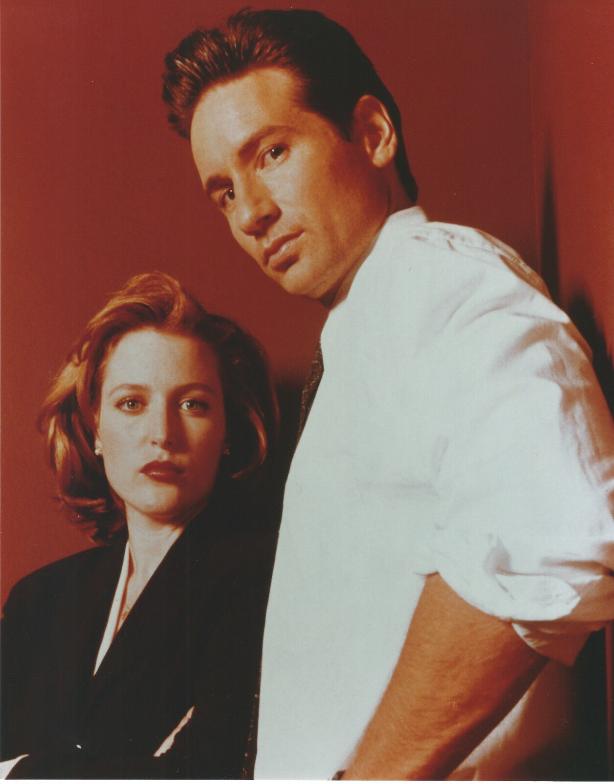 X-FILES 8 X 10 PHOTO WITH ULTRA PRO TOPLOADER - $3.99