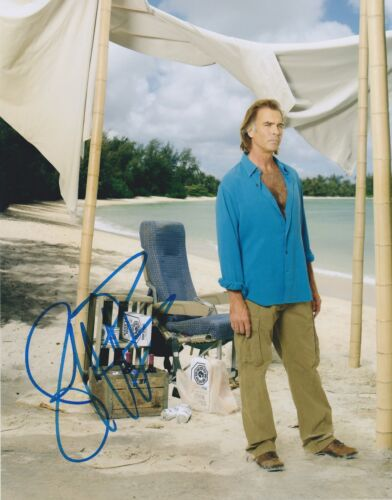 Jeff Fahey Signed Lost 10x8 Photo AFTAL