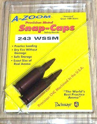 A-zoom Precision Metal Snap Caps 243 Wssm 12298