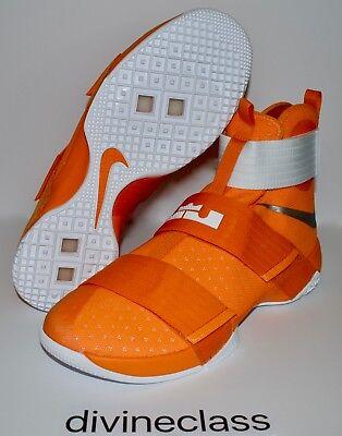 hot sale online 7a39c 97356 purchase mens nike lebron lbj soldier 10 tb orange basketball shoes size  14.5 856489 881 cdec8