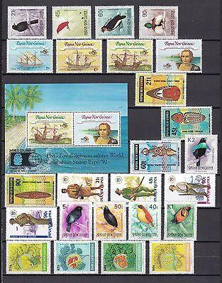 Papua New Guinea postfrisch Jahrgang 1992