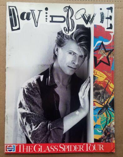 David Bowie 1987 GLASS SPIDER TOUR Program