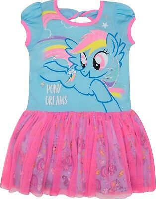 My Little Pony Toddler Girls' Tulle Dress Rainbow Dash, Blue and Pink](My Little Pony Rainbow Dash Clothes)