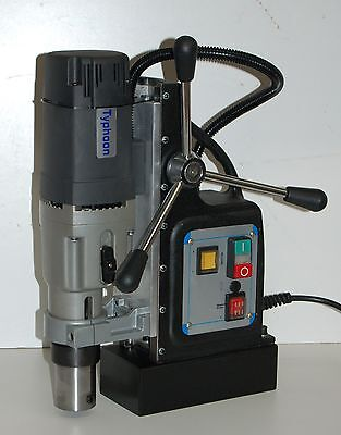 Bluerock Model Typ-75 Mag Drill - Typhoon 75 Magnetic Drill Press 3 Diameter