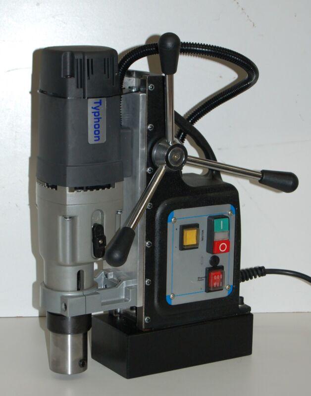 "BLUEROCK ® Model TYP-75 Mag Drill - TYPHOON 75 Magnetic Drill Press 3"" Diameter"