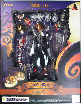 Bring Arts ~ Kingdom Hearts II ~ HALLOWEEN TOWN SORA ACTION FIGURE ~ Square Enix - Halloween Art Kids