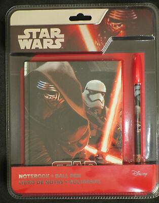 STAR WARS NOTEBOOK AND BALLPOINT PEN SET