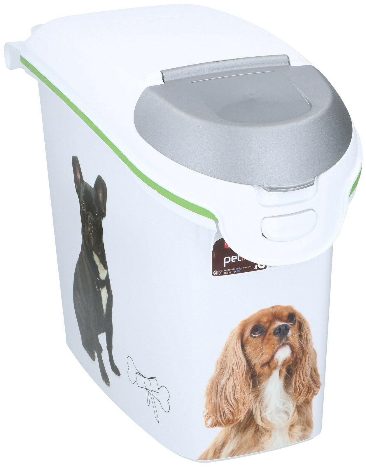 Curver Plastic Pet Food Storage Container 6kgs Dry Dog Food Bin Dog