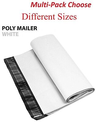 11000 Multi-pack White Poly Mailers Shipping Envelopes Self Sealing Bags