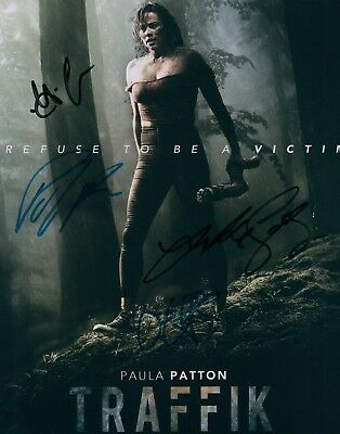 Traffik Paula Patton Omar Epps Luke Goss Deon Taylor Cast Signed 8X10 Photo Coa