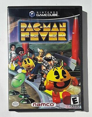 PAC-MAN FEVER NINTENDO GAMECUBE VIDEO GAME.