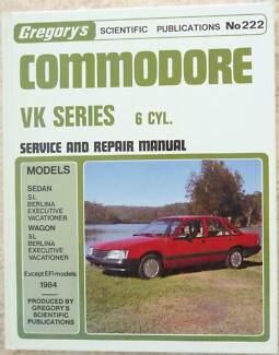 COMMODORE VK SERIES 6 CYL. 1984 SERVICE & REPAIR MANUAL Tenambit Maitland Area Preview