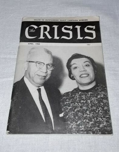 THE CRISIS AFRICAN AMERICAN MAGAZINE APRIL 1960