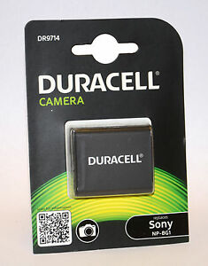 duracell dr9714 replacement digital camera battery for sony np bg1 ebay. Black Bedroom Furniture Sets. Home Design Ideas