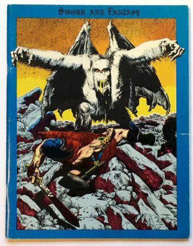 Sword and Fantasy Magazine Fanzine Corben Frazetta Wrightson Wood Hickman 1970