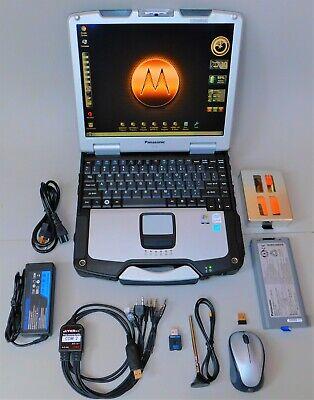 Panasonic TOUGHBOOK Radio Programmer Laptop + SDR/ RF Spectrum Analyzer & ADS-B