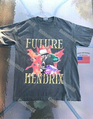 Future hendrix rapper tour supreme rare t-shirt 2019 young thug hip hop vintage
